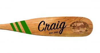 Craig Paddle Laser Burn Sketch