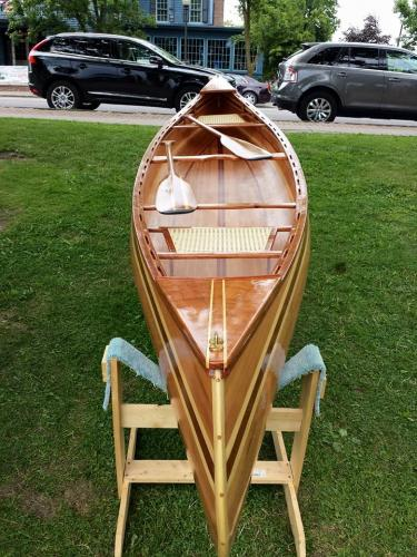Canoe Boat at show