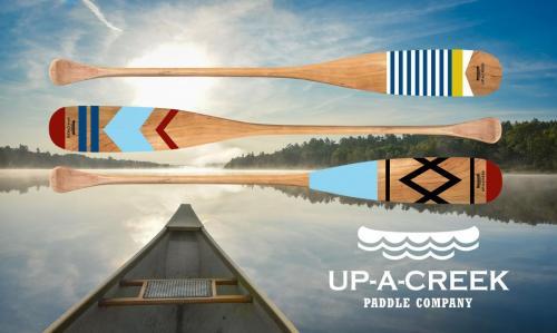 Inside canoe